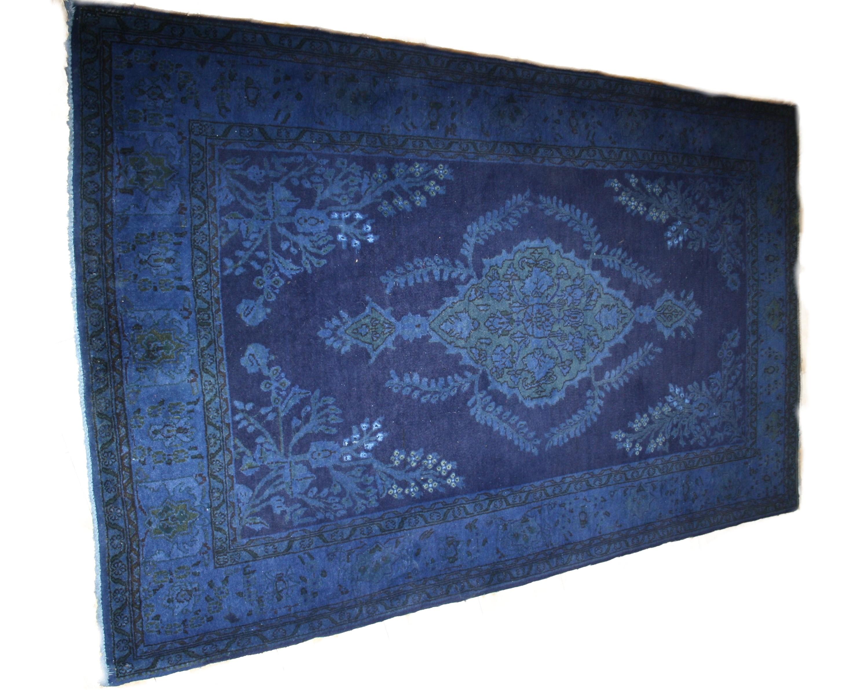 Teppiche färben